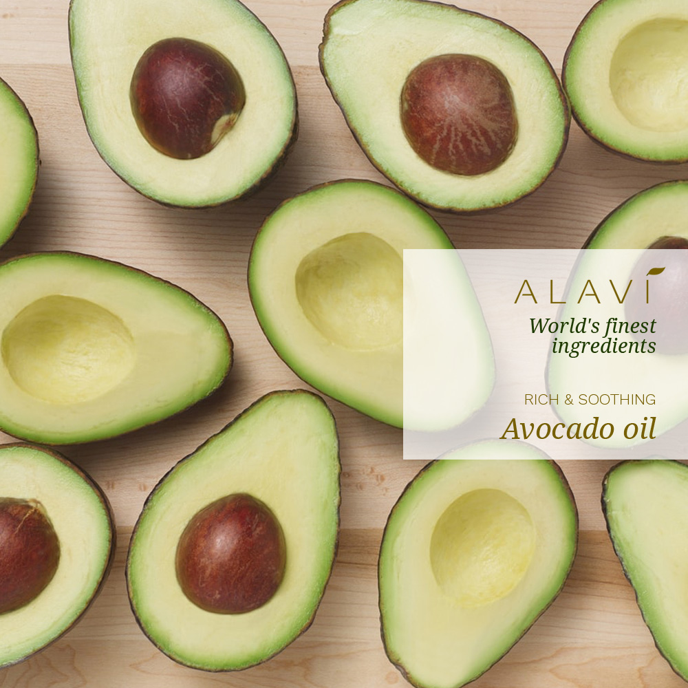 Avocado oil - rich & soothing