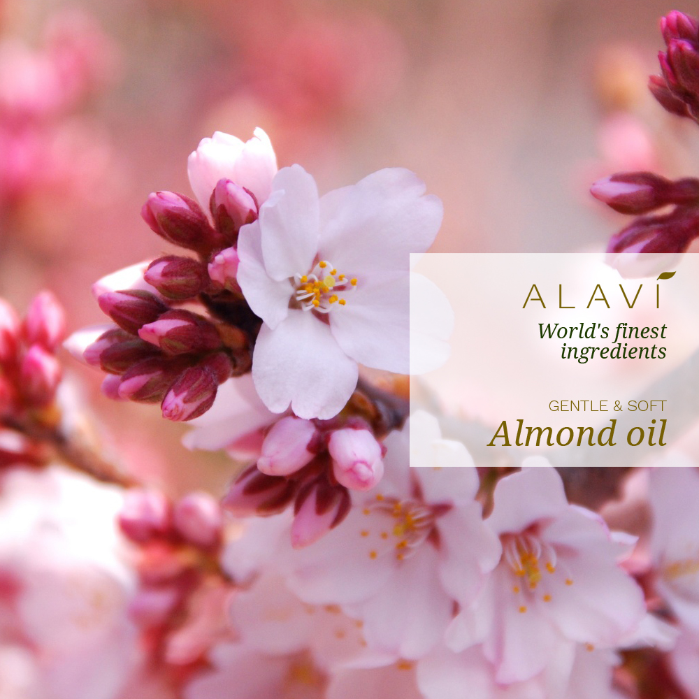 Almond oil - gentle and soft