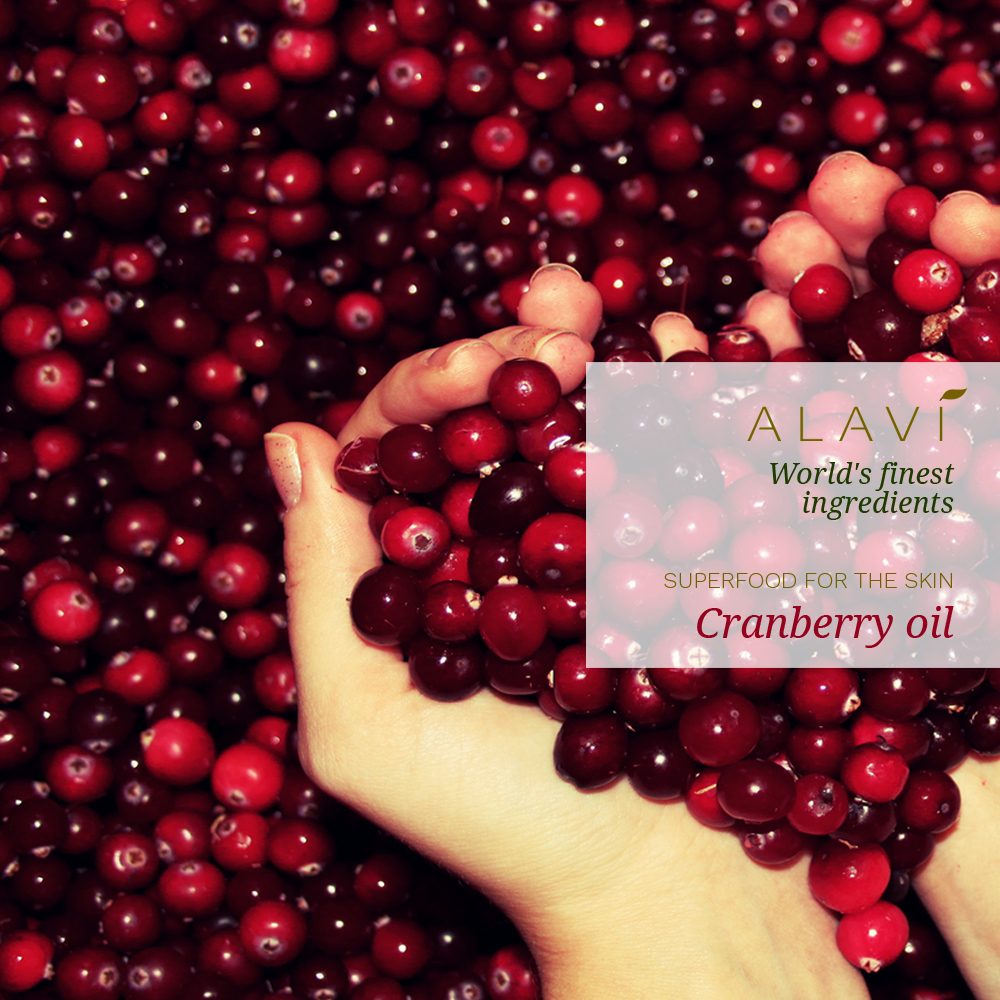 Cranberry oil - superfood for the skin