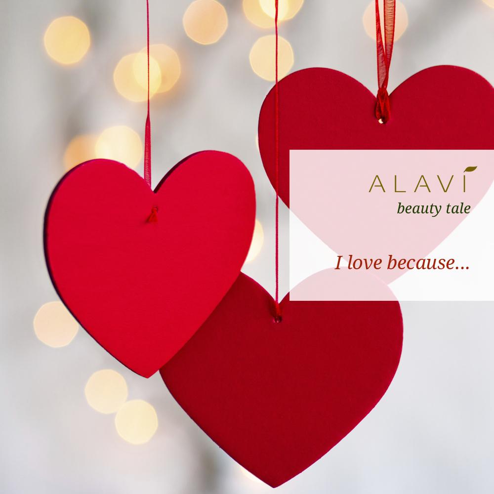 I love because...
