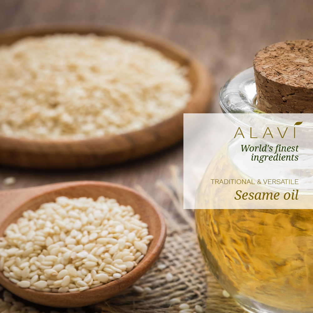 Sesame oil - traditional & versatile